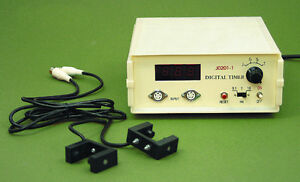 Digital Timer With Photogates 2 For Air Track Physics Timer