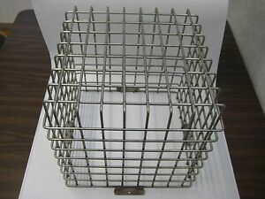 Vandal Proof Stainless Steel Wire Cage 12 75 X 12 75 X12 5 heavy Duty