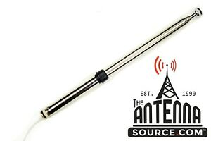 Am Fm Power Antenna Mast New Stainless Mast Fits 12 99 2005 Toyota Mr2 Spyder