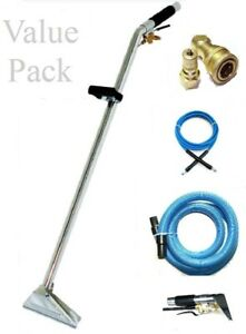Carpet Cleaning 12 Wand Hoses Upholstery Tool Combo