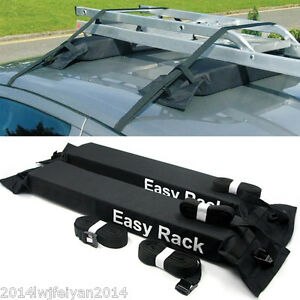 Universal Car Roof Top Cargo Storage Rack Luggage Carrier Soft Easy Rack Travel