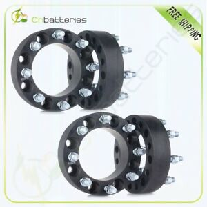 4pc 2 50mm Wheel Spacers 8x170 14x2 Studs For Ford F350 Super Duty F250 Truck