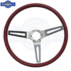 1969 1970 Chevelle El Camino Red Steering Wheel Cushion 3 Spoke New