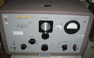 Hp Hewlett Packard Test Oscillator Model 650a 650 A