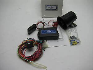 Oem Ford Car Alarm Add On System F3az19a361c Vehicles With Factory Keyless Entry