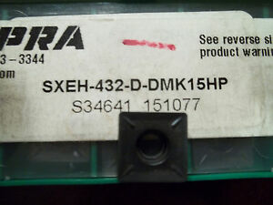 New Dapra Sxeh 432 D Dmk15hp Buy It Now 10 Inserts Free Shipping
