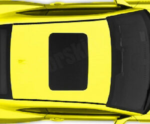 Vinyl Roof Trim Decal Overlay For 2010 2011 2012 2013 2014 2015 Chevy Camaro