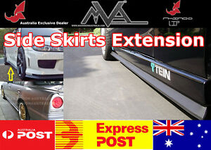 Rhino Lip Side Skirt Extension For Holden Astra Ah Ts Pj Tr Cruze Jg Jh Yg