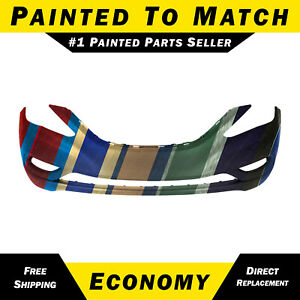 New Painted To Match Front Bumper Cover For 2011 2012 2013 Hyundai Sonata