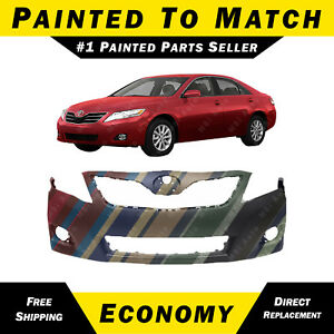New Painted To Match Front Bumper Cover For 2010 2011 Toyota Camry Usa Le Xle
