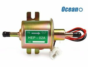 New 12v Fuel Pump Low Pressure Electric For Jeep Hep 02a
