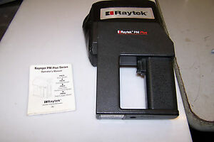 Raytek Pm Plus Noncontact Temperature Measurement c f Model 3mc08 9 Volt