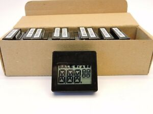 10x Ncr Electronic Digital Price Display Tags New
