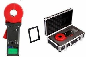 Etcr2100c Clamp On Ground Earth Resistance Tester Rs232