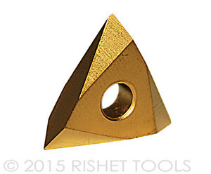 Rishet Tools Tnmc 43nv C5 Multi Layer Tin Coated Carbide Inserts 10 Pcs