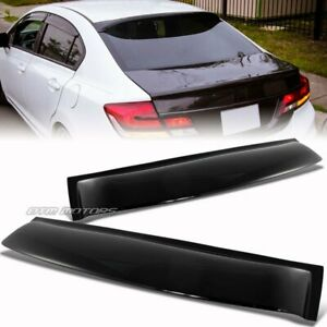 Roof spoiler in stock replacement auto auto parts ready for 2002 honda civic rear window visor