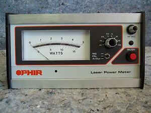 Ophir Optics Ltd Laser Power Meter W case And Accessories