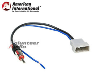 Aftermarket Radio Stereo Cdplayer Antenna Adapter Adaptor Cable Female