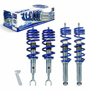 Jom Audi A4 B5 8d Fwd Euro Height Adjustable Coilover Suspension Lowering Kit