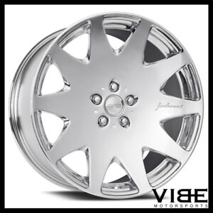 22 Mrr Hr3 Chrome Vip Concave Wheels Multispoke Rims Fits Lexus Ls460 Ls600
