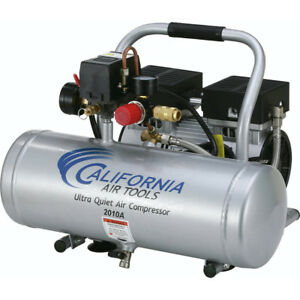 California Air Tools 2010a 1 Hp 2 Gal Aluminum Air Compressor Cat 2010a New