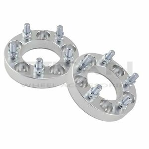 2 1 Inch Wheel Spacers 5x4 5 For Ford Mustang Classic Car Hotrod Boss Shelby