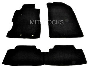 Fit For 2001 2005 Honda Civic 2 4 Door Si Hatchback Black Carpet Floor Mats