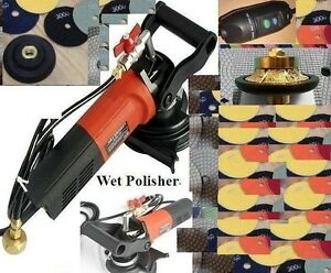 3 8 Roundover Bullnose Granite Countertop Wet Polisher Concrete Polishing Pad