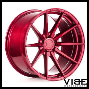 20 Rohana Rfx1 Red Forged Concave Wheels Rims Fits Acura Tl