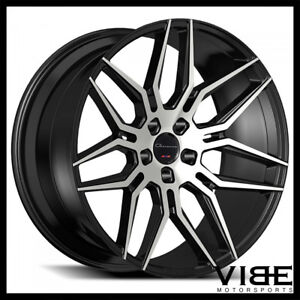 24 Giovanna Bogota Machined Concave Wheels Rims Fits Dodge Challenger