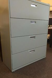Hon 4 Drawer Lateral Filing Cabinet