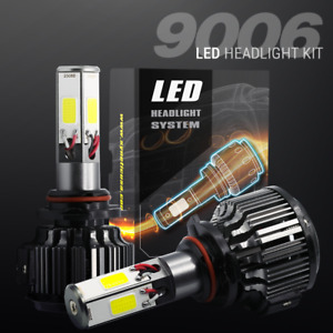 120 Watts 12000lm Cree Led Fog Lights Kit Bulbs 6000k White High Power 9006 Hb4