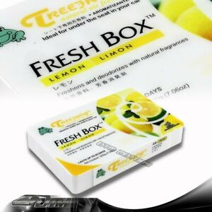 Lemon Scent Treefrog Tree Frog Natural Xtreme Fresh Box Car Air Freshener Jdm