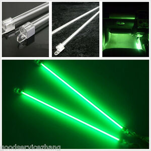 4 X Car Green Undercar Underbody Neon Kit Lights Ccfl Cold Cathode Long Diy