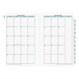Franklin Covey 2017 Original Dated Daily Planner Refill 5 1 2 X 8 1 2