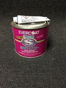 Evercoat 445 Spot Life Polyester Finishing Spot Putty Glaze Body Filler 20 Oz