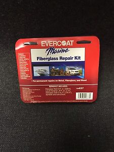 Evercoat 637 Boat Marine Fiberglass Repair Kit Evercoat 637