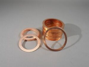 Mixed Lot 37 Of Mdc Copper Gasket Flange Model Gk 250 Gk 300