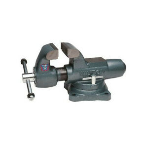 Wilton 350s 3 1 2 In Jaw Width Swivel Base Machinists Bench Vise Wmh10011 New