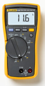 New Fluke 116 Hvac Multimeter With Temperature And Microamps