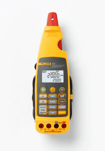 Fluke 773 Loop Calibrators Type Milliamp Process Clamp Meter True Rms No