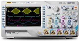 New Rigol Ds4014 100 Mhz Digital Oscilloscope With 4 Channels