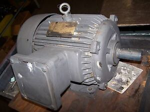 New Toshiba 10 Hp Exposion Proof Ac Electric Motor 215t Frame 3440 Rpm 230 460v