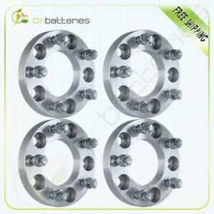 4 1 Thick 5x5 To 5x5 Wheel Spacers Adapters For 2006 2010 Jeep Commander