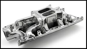 Ford 260 289 302w Eliminator Intake Manifold Polished Pce147 1047 Clearance