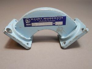 Maury Microwave H135 1 Waveguide H Bend 90 Wr 112 Used
