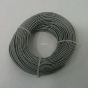 22 Awg Tinned Copper Stranded Hook Up Wire 100 Feet Gray Ul1007