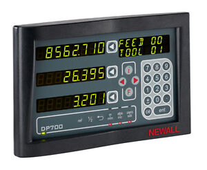 New Newall Dp700 2axis Digital Readout Dro For Turning