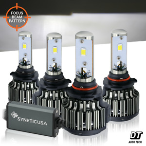 9005 9006 Combo 240w 24000lm Cree Led Headlight Kit High Low Beam Light Bulbs