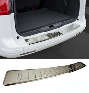 Vw Golf Mk6 6 Gti Rear Bumper Stainless Steel Protector Guard Trim Cover Chrome